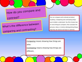 Compare and Contrast PowerPoint