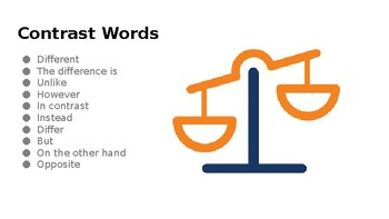 Compare and Contrast Powerpoint for ESL