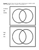 Compare and Contrast: Worksheet with Topics, Venn Diagram, and Answer Key