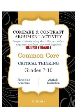 Argument Practice Compare & Contrast