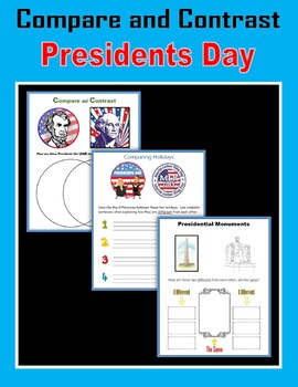Compare and Contrast - Presidents Day
