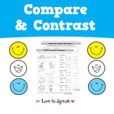 Compare and Contrast (No Prep/Print and Go Activity)