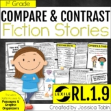 Compare and Contrast Two Stories 1st Grade RL.1.9 with Digital Learning Links