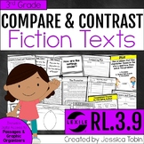 Compare and Contrast Fiction Stories 3rd Grade RL.3.9 digi