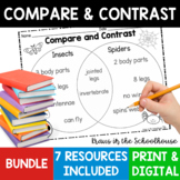 Compare and Contrast Reading Comprehension Bundle