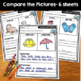 Compare and Contrast: Reading Passages & Printables