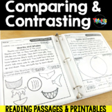 Compare and Contrast Passages & Printables freakyfridaydollardeals