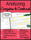 Compare and Contrast Reading Comprehension Passages with Questions