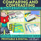 Compare and Contrast | Reading Strategies | Digital and Printable