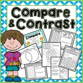 Compare and Contrast Activities - Readings, Flip book, Story Writing!