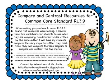 Compare and Contrast (RL 3.9)