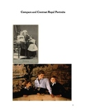 Compare and Contrast Exercises with Royal Family Portraits