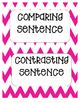 Comparing and Contrasting Sentence Sort