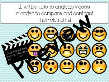 Compare and Contrast Short Film Lesson- FUN Back to School Lesson