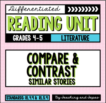 compare and contrast five stories to Classroom must focus on literature (stories, drama, and poetry) as well as  the  5 refers to grade five  5199 compare and contrast stories in the same.