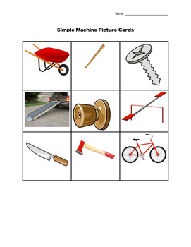 Compare and Contrast Simple Machines