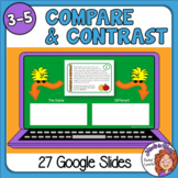 Compare and Contrast Slides Google Classroom Distance Learning
