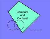 Compare and Contrast Smartboard Lesson