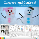 Compare and Contrast Snow Themed Mini Unit