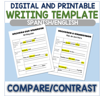 Compare and Contrast (Spanish/English)