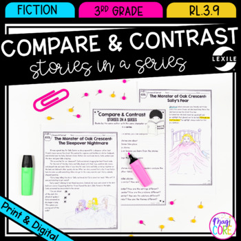 Compare And Contrast Stories In A Series 3rd Grade Rl 3 9