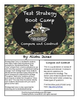 Compare and Contrast Strategy Boot Camp