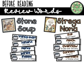 "Compare and Contrast Texts: ""Strega Nona"" and ""Stone Soup"""