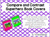 Compare and Contrast Superhero Book Covers