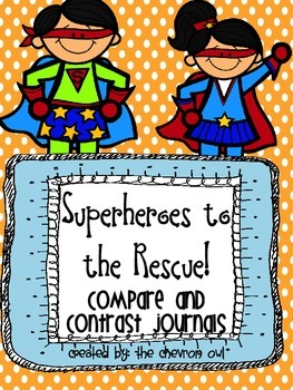 Compare and Contrast Superhero Journals
