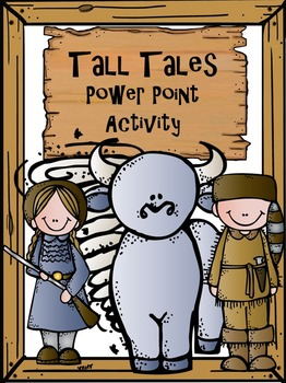 Compare and Contrast Tall Tales Power point activity