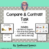 Compare & Contrast Language Task - 2nd Edition
