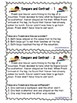 Compare and Contrast Task Cards, Tier Two Words, Fiction a