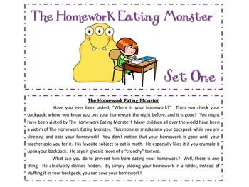 Monsters Compare and Contrast Task Cards and Venn Diagram Unit