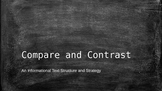 Compare and Contrast Text Structures and Strategies Power Point
