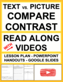 Compare and Contrast Text vs. Film   Printable & Digital