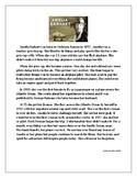 NJSLA ELA Test Practice-Compare/Contrast Fiction and Non-Fiction-Women's History