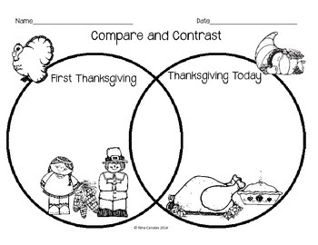 Compare and Contrast Thanksgiving