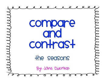 Compare and Contrast: The Seasons