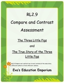 Compare and Contrast The Three Little Pigs  RL2.9