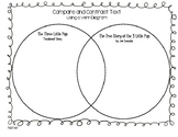 Compare and Contrast The Three Little Pigs- Venn Diagram