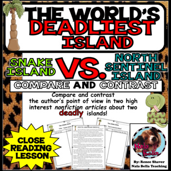 Compare and Contrast The World's Deadliest Island Nonfiction Reading
