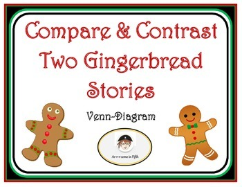 Compare and Contrast Two Christmas Gingerbread Stories