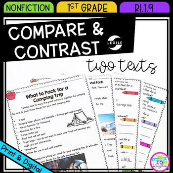 compare and contrast two texts