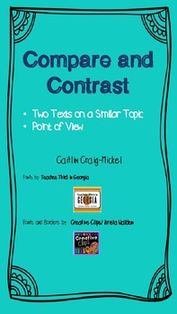 Compare and Contrast Two Texts on the Same Topic
