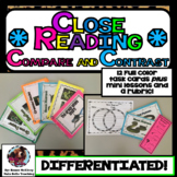 Compare and Contrast Task Cards With Close Reading Lessons