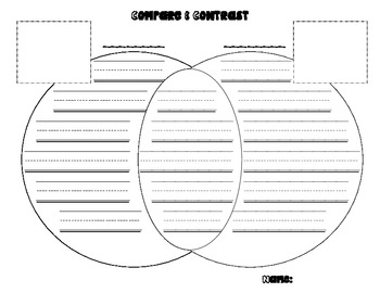 Compare and Contrast Venn Diagram Template/Master