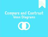 Compare and Contrast Venn Diagrams