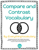 Compare and Contrast Vocabulary