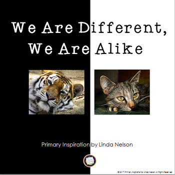 Compare and Contrast ~ We Are Different, We Are Alike #kin