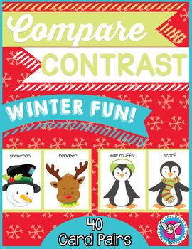 Compare and Contrast: Winter Fun